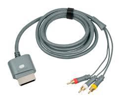 AV kabel do TV pro XBOX360 (starší generace) příslušenství
