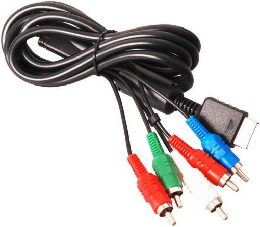 AV kabel pro PS2 a PS3 komponentní cinch příslušenství