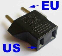 Adaptér na vidlici 220V US (Čína) -> EU příslušenství