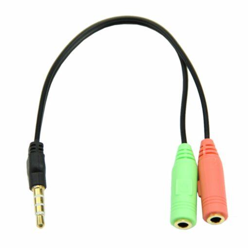 Adaptér pro headsety (2xF / 1xM) příslušenství