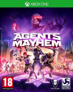 Hra Agents Of Mayhem pro XBOX ONE XONE X1 konzole