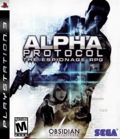 Hra Alpha Protocol: The Espionage RPG pro PS3 Playstation 3 konzole