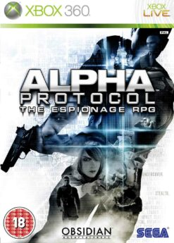 Hra Alpha Protocol: The Espionage RPG pro XBOX 360 X360 konzole
