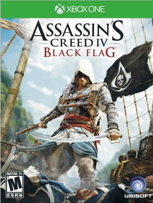 Hra Assassin's Creed 4: Black Flag pro XBOX ONE XONE X1 konzole