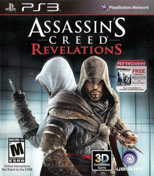 Hra Assassin's Creed: Revelations pro PS3 Playstation 3 konzole