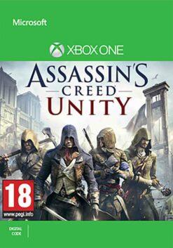 Hra Assassin's Creed: Unity (kód ke stažení) pro XBOX ONE XONE X1 konzole