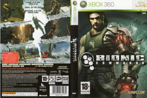 Hra Bionic Commando pro XBOX 360 X360 konzole