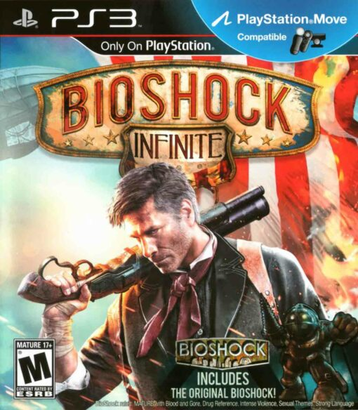 Hra Bioshock Infinite pro PS3 Playstation 3 konzole