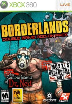 Hra Borderlands: Double Game Add-On Pack pro XBOX 360 X360 konzole