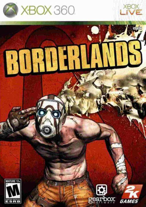 Hra Borderlands pro XBOX 360 X360 konzole
