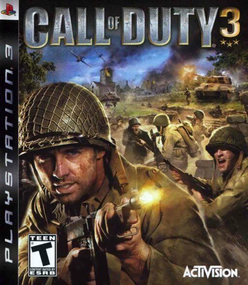Hra Call Of Duty 3 pro PS3 Playstation 3 konzole