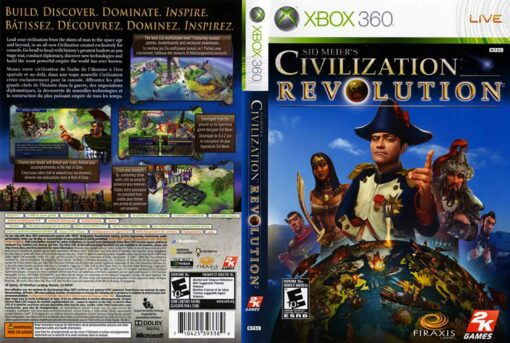 Hra Civilization Revolution pro XBOX 360 X360 konzole