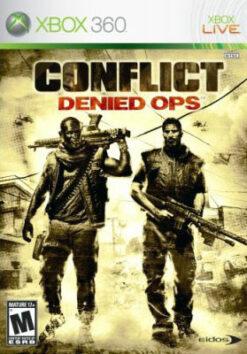 Hra Conflict: Denied Ops pro XBOX 360 X360 konzole