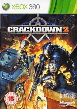 Hra Crackdown 2 pro XBOX 360 X360 konzole