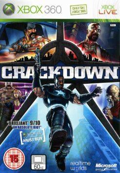 Hra Crackdown pro XBOX 360 X360 konzole