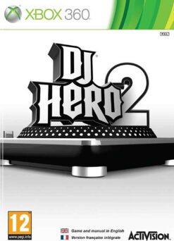 Hra DJ Hero 2 pro XBOX 360 X360 konzole