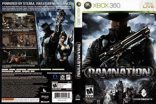 Hra Damnation pro XBOX 360 X360 konzole