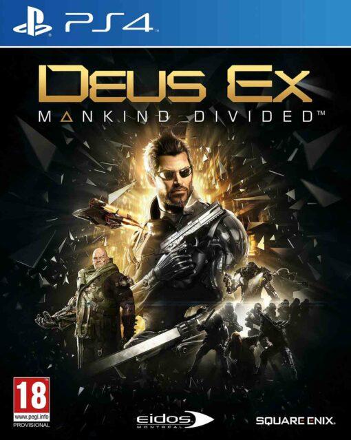 Hra Deus Ex: Mankind Divided pro PS4 Playstation 4 konzole