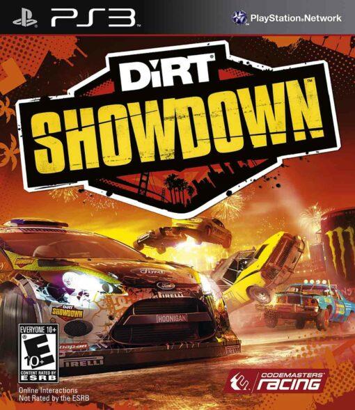Hra DiRT Showdown pro PS3 Playstation 3 konzole