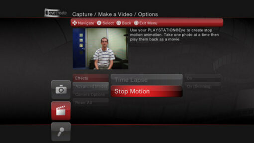 Hra EyeCreate pro PS3 Playstation 3 konzole