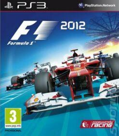 Hra F1 2012: Formula 1 pro PS3 Playstation 3 konzole