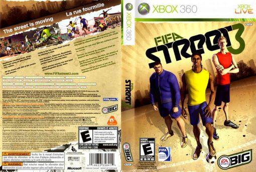 Hra FIFA Street 3 pro XBOX 360 X360 konzole
