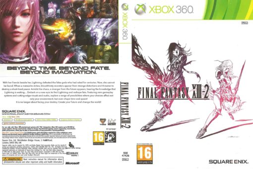 Hra Final Fantasy XIII 2 pro XBOX 360 X360 konzole