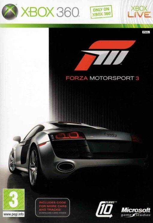 Hra Forza Motorsport 3 pro XBOX 360 X360 konzole