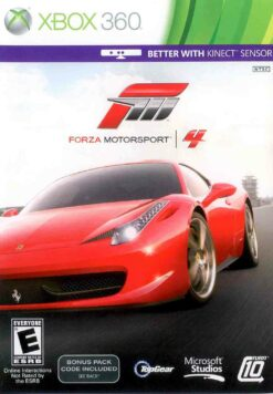 Hra Forza Motorsport 4 pro XBOX 360 X360 konzole