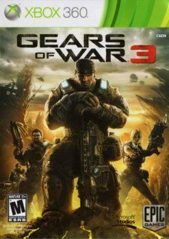 Hra Gears Of War 3 (kód ke stažení) pro XBOX 360 X360 konzole