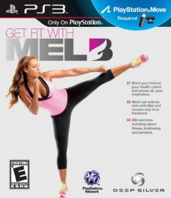 Hra Get Fit With Mel B pro PS3 Playstation 3 konzole