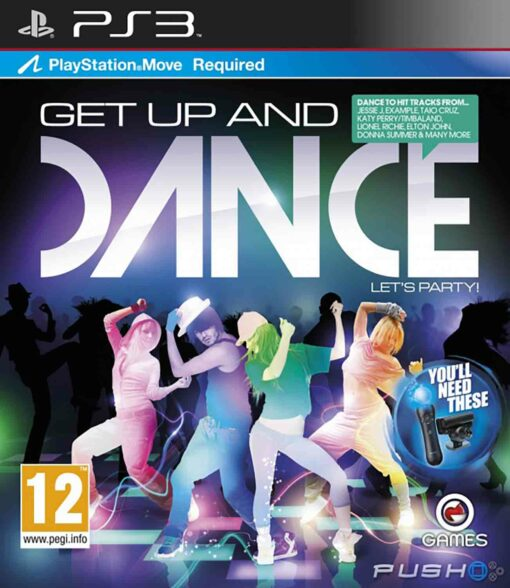 Hra Get Up And Dance pro PS3 Playstation 3 konzole