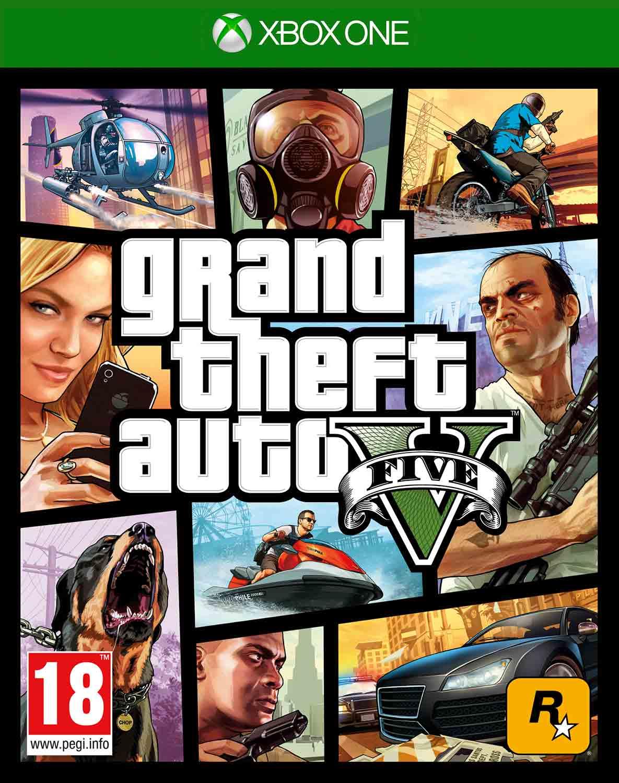 Grand Theft Auto V / GTA 5 pro XBOX ONE