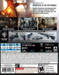 Hra Homefront: The Revolution pro PS4 Playstation 4 konzole
