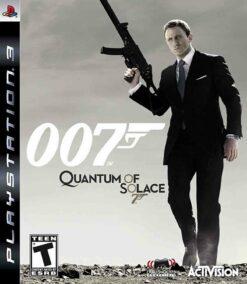 Hra James Bond 007: Quantum Of Solace pro PS3 Playstation 3 konzole