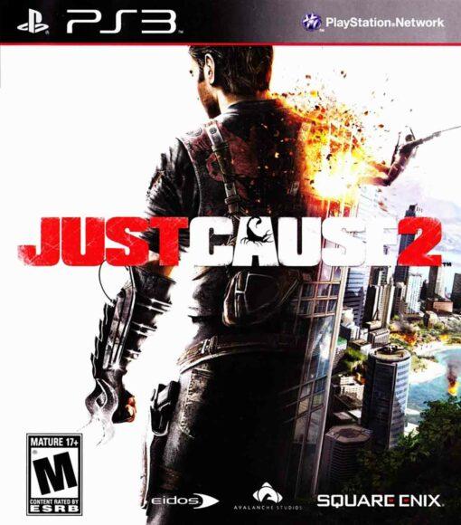 Hra Just Cause 2 pro PS3 Playstation 3 konzole