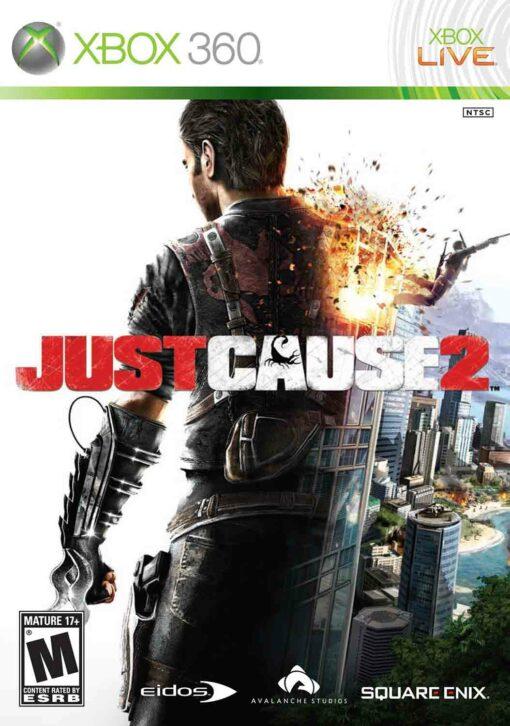 Hra Just Cause 2 pro XBOX 360 X360 konzole
