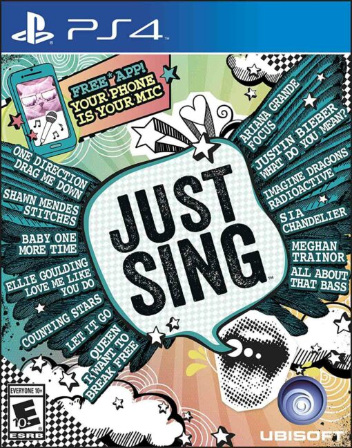 Hra Just Sing pro PS4 Playstation 4 konzole