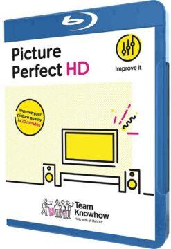 Kalibrační DVD a BluRay Picture Perfect HD příslušenství