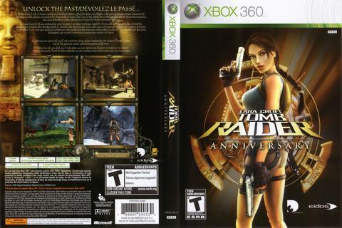 Hra Lara Croft Tomb Raider: Anniversary pro XBOX 360 X360 konzole