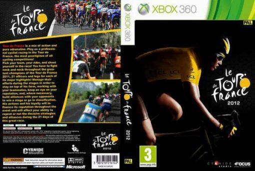 Hra Le Tour De France 2012 pro XBOX 360 X360 konzole