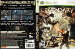 Hra Legendary pro XBOX 360 X360 konzole