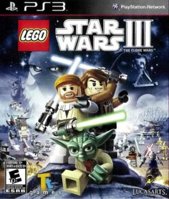 Hra Lego Star Wars 3: The Clone Wars pro PS3 Playstation 3 konzole