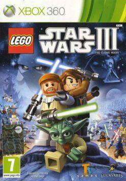 Hra Lego Star Wars 3: The Clone Wars pro XBOX 360 X360 konzole