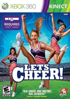 Hra Let's Cheer pro XBOX 360 X360 konzole