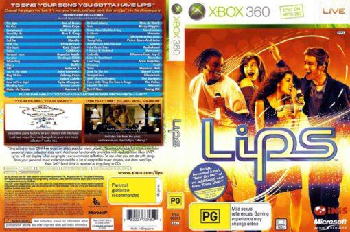 Hra Lips + 2 mikrofony pro XBOX 360 X360 konzole