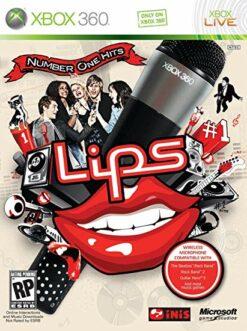 Hra Lips: Number One Hits + 2 mikrofony pro XBOX 360 X360 konzole