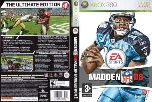 Hra Madden NFL 08 pro XBOX 360 X360 konzole