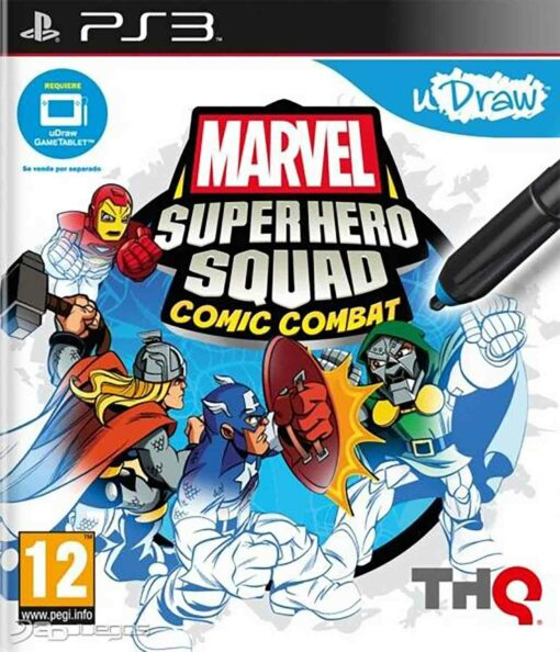 Hra Marvel Super Hero Squad Comic Combat pro PS3 Playstation 3 konzole
