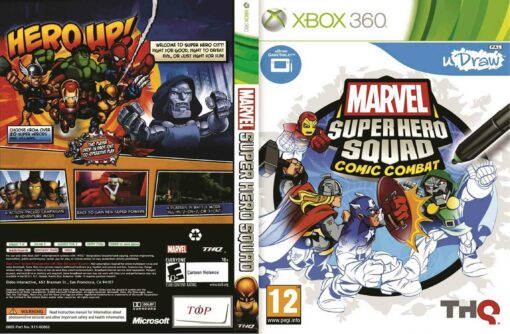 Hra Marvel Super Hero Squad Comic Combat pro XBOX 360 X360 konzole